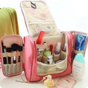 TRAVEL TOILETRIES ORGANIZER BAG