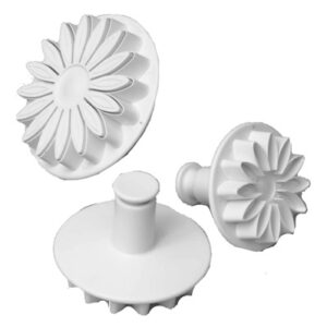 3 PC CALYX FLOWER FONDANT CUTTER