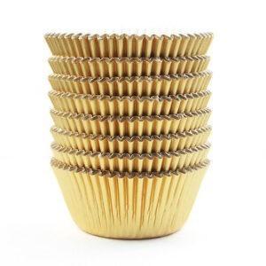 GOLD 10CM CUPCAKE CASES 300PC PKT
