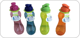TREND PLASTIC WATER BOTTLE