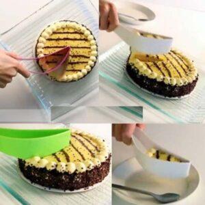 TRANSPARENT CAKE CLIP