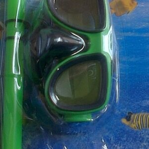 SWIMMING & SNORKEL GOGGLES SET