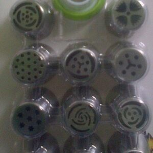 RUSSIAN NOZZLES SET OF 11PCS WITH TRI COLOUR COUPLER CARDED