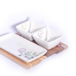 6PC LOUNGE APPETIZER SERVING SET