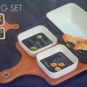 4PC BAMBOO TASTING SET