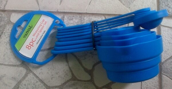PLASTIC MEASURING CUPS&SPOONS SET
