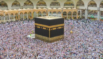 People on Islamic Pilgrimage