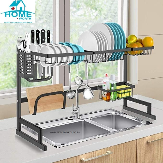 dish rack over sink dish dryer rack long